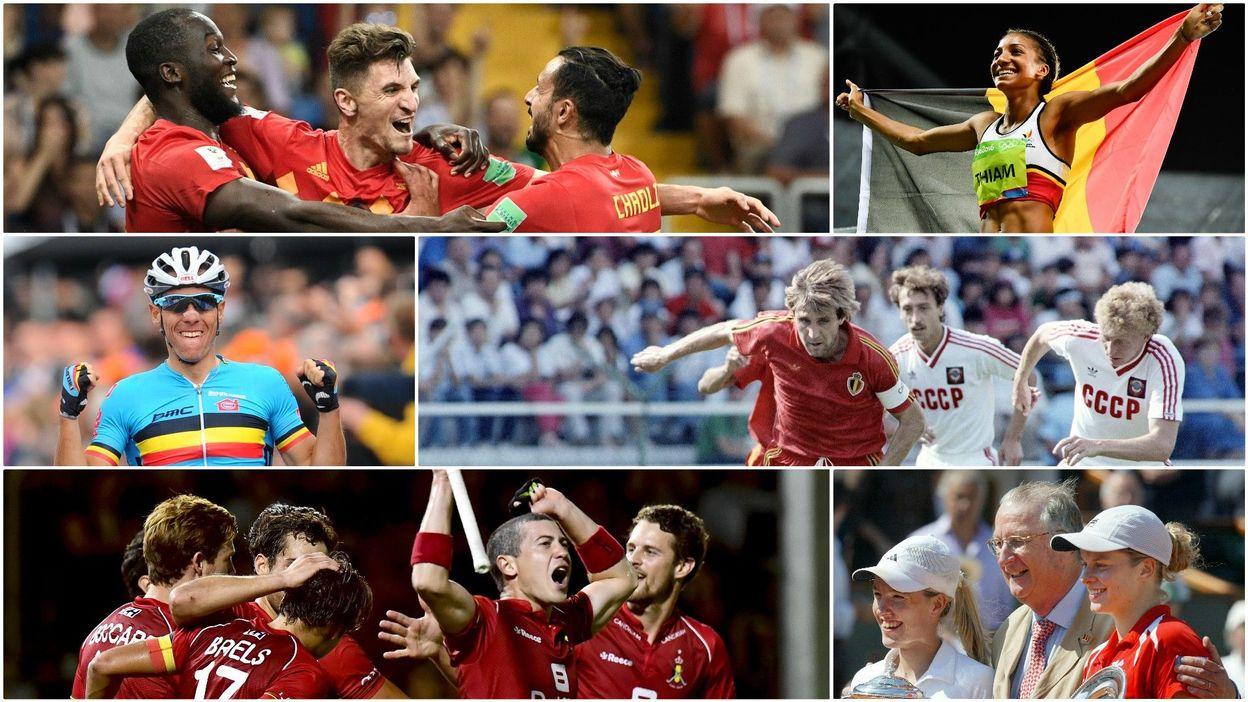 Fan du sport belge ? Revivez tous les grands moments sportifs du plat pays
